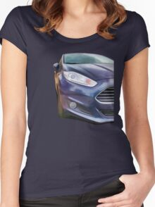 Ford Fiesta Women's Fitted Scoop T-Shirt