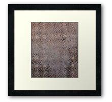 Pixel #3 Framed Print