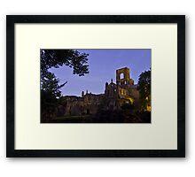 Kirkstall Abbey 4189-A Cistercian monastery Leeds West Yorkshire Framed Print