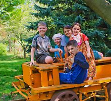 KIDS ON THE RAILROAD by Pauline Evans