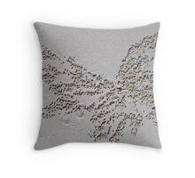 Crab Art. Throw Pillow