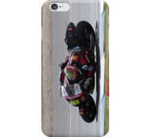 Alvaro Bautista in Jerez 2012 iPhone Case/Skin