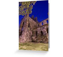 Kirkstall Abbey Cistercian monastery Leeds West Yorkshire Greeting Card