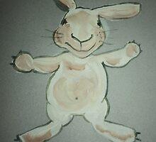 'Marvin Hartlett' - A Rabbit by SarahParsonsArt