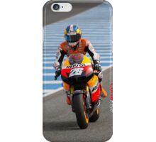 Dani Pedrosa in Jerez 2012 iPhone Case/Skin