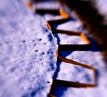 Dusty Snow and Geometry (Third View) by Anca Jugarean