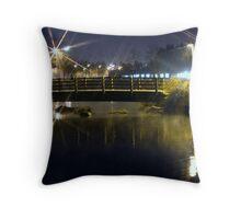 Evening walk Throw Pillow