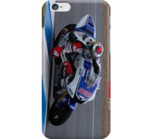 Jorge Lorenzo in Jerez 2012 iPhone Case/Skin