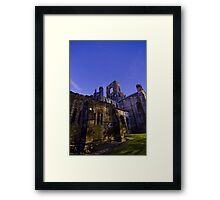 Kirkstall Abbey 4258-A Cistercian monastery Leeds West Yorkshire Night After   Dark Photography Framed Print