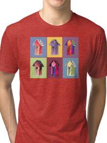 Birdhouse Condos Tri-blend T-Shirt