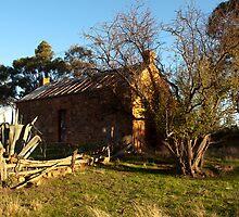 Early Settler's Cottage. Muckleford by John Sharp