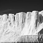 Greenland - ornate iceberg by Derek  Rogers