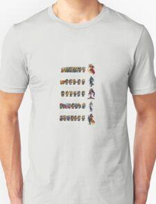 Final Fantasy VI to X Unisex T-Shirt
