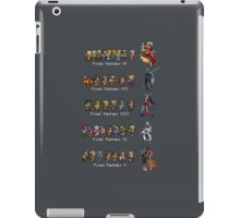 Final Fantasy VI to X iPad Case/Skin
