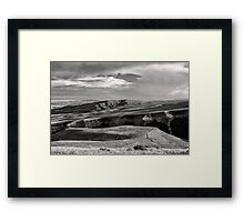 Colton Draw Overlook Framed Print