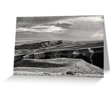 Colton Draw Overlook Greeting Card