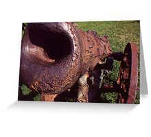 Old Cannon at the Park Greeting Card