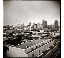 { sydney skyline } Photographic Print