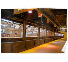 last train out, Newark Penn Station Series Poster