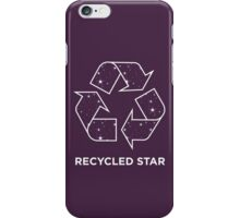 Recycled Star iPhone Case/Skin