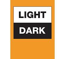 Light · Dark Photographic Print