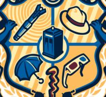 Whovian Institute (ver 2) - STICKER Sticker