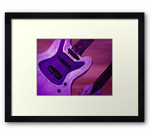 Jazz One Framed Print