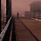 Her Morning Walk by Joanne  Bradley