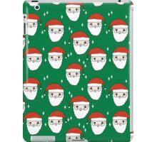 Santa - Kelly Green by Andrea Lauren  iPad Case/Skin