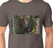 Trujillo Meadow Reservoir Waterfall - Colorado Unisex T-Shirt