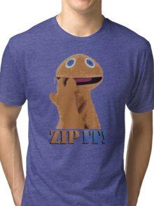 Zip It! Tri-blend T-Shirt