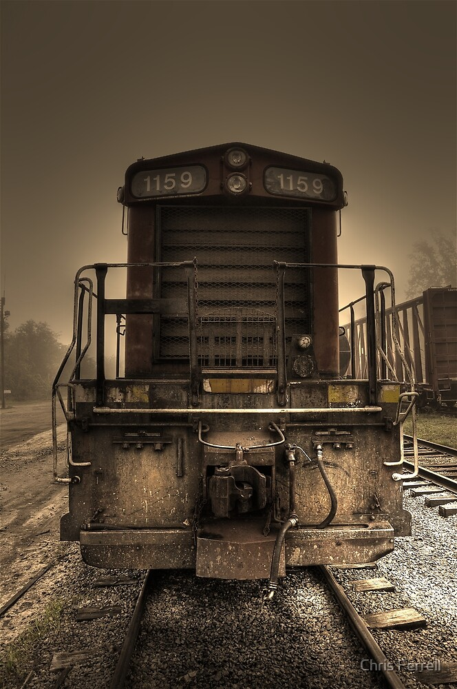 Engine 1159 by Chris Ferrell