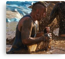 Tough Mudder Canvas Print