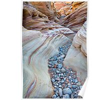 Sinuous Sandstone Poster