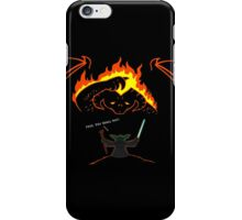 Aren't you a little short for a wizard? iPhone Case/Skin