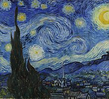 The Starry Night by Vincent van Gogh by Robert Partridge