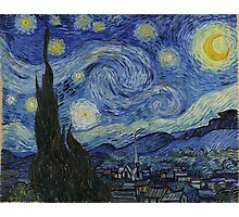 The Starry Night by Vincent van Gogh Photographic Print