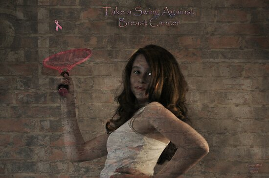 """"""" Take a Swing Against Breast Cancer """" by CanyonWind"""