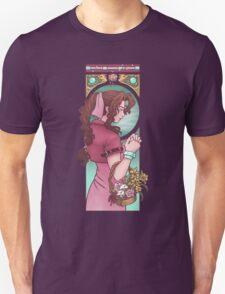 Ancient Flower Girl Unisex T-Shirt