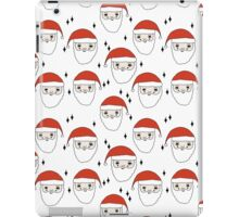Santa - Red and White by Andrea Lauren  iPad Case/Skin