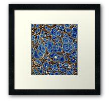 Vintage abstract pattern Framed Print