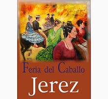 Jerez Horse Festival v2a Unisex T-Shirt