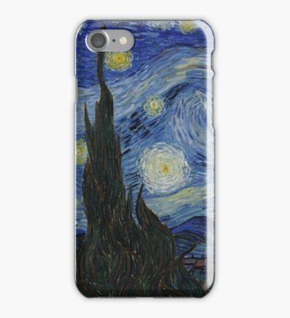 The Starry Night by Vincent van Gogh iPhone Case/Skin