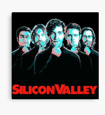Silicon Valley TV Series Canvas Print