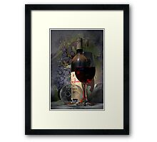The Red Man Framed Print