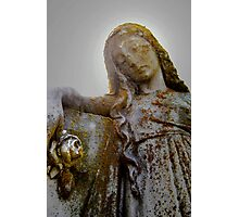 Ephesus Angel Photographic Print