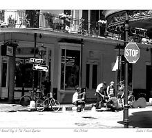 Late Afternoon In The French Quarter by Sandra Russell