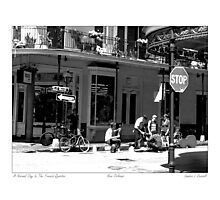 Late Afternoon In The French Quarter Photographic Print