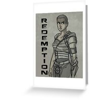 Redemption Greeting Card