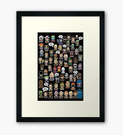 This is What I did in the 80s Framed Print